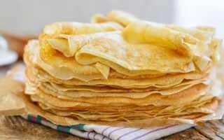 Мятные блинчики – пошаговый рецепт с фото. Как приготовить