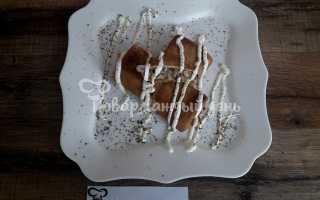 Блинчики с гусиным паштетом и картофельным пюре – пошаговый рецепт с фото. Как приготовить