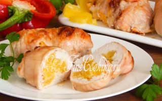 Куриный рулет с ананасом – пошаговый рецепт с фото. Как приготовить