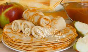 Яблочные блинчики – пошаговый рецепт с фото. Как приготовить