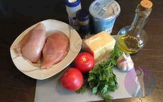 Курица в духовке с помидорами – пошаговый рецепт с фото – для духовки