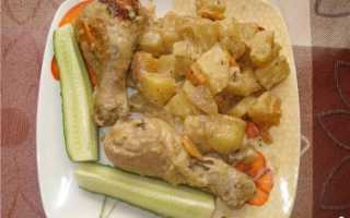 Маринованые в специях и обжаренные куриные ножки – пошаговый рецепт с фото – для мультиварки