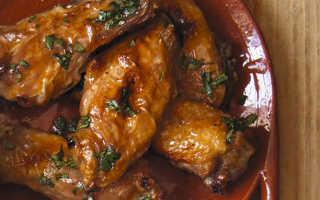 Куриные крылышки с кленовой глазурью – пошаговый рецепт с фото. Как приготовить