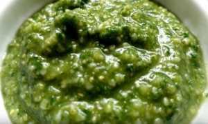 Песто с базиликом и семечками – пошаговый рецепт с фото. Как приготовить