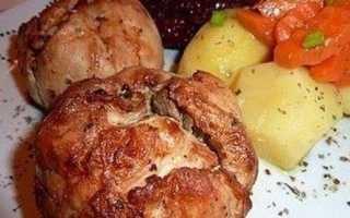 Куриные «бомбочки» – пошаговый рецепт с фото. Как приготовить