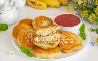 Банановые оладушки – пошаговый рецепт с фото. Как приготовить