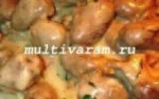 """Курица в мультиварке """"Панасоник"""" – пошаговый рецепт с фото – для мультиварки"""