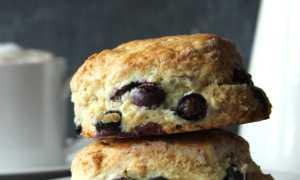 Миндальные булочки с черникой – пошаговый рецепт с фото. Как приготовить