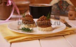 Паштет из куриной печенки со сливками в мультиварке – пошаговый рецепт с фото – для мультиварки