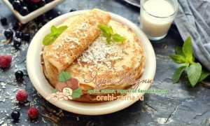 Кокосовые блины – пошаговый рецепт с фото. Как приготовить