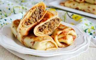 Печеночные блинчики с сыром, грибами и помидорами – пошаговый рецепт с фото. Как приготовить