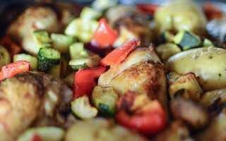 Птица с овощами в духовке – пошаговый рецепт с фото – для духовки