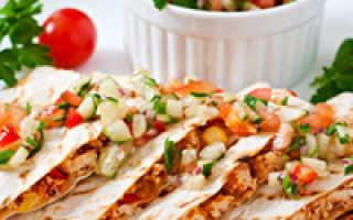 Мексиканская кесадилья – пошаговый рецепт с фото. Как приготовить