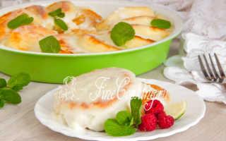 Сырники, запеченные под сметанным кремом – пошаговый рецепт с фото – для духовки