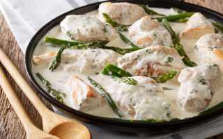 Куриное филе в чесночном соусе – пошаговый рецепт с фото. Как приготовить