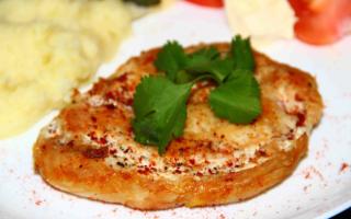 """Куриные отбивные в """"манной"""" панировке – пошаговый рецепт с фото. Как приготовить"""