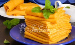 Морковные блины – пошаговый рецепт с фото. Как приготовить
