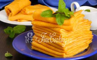 Морковные блинчики с фетой – пошаговый рецепт с фото. Как приготовить