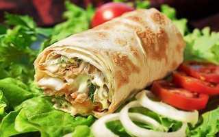 Куриная шаурма с овощами и зеленью – пошаговый рецепт с фото. Как приготовить
