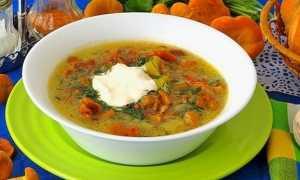 Гороховый суп с лисичками. – пошаговый рецепт с фото. Как приготовить