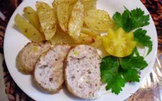 Окорочка фаршированные гречкой, грибами и запеченый картофель – пошаговый рецепт с фото – для духовки