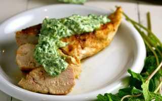Жареная курица с мятным чатни – пошаговый рецепт с фото. Как приготовить