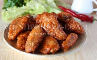 Куриные крылышки Баффало – пошаговый рецепт с фото. Как приготовить