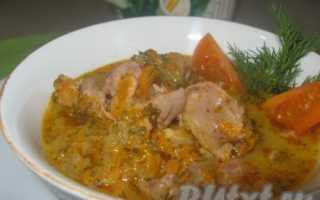 Куриные желудки с шампиньонами и перцем – пошаговый рецепт с фото. Как приготовить