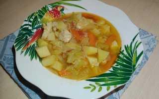 """""""Рагу"""" из курицы и овощей с пряными специями карри – пошаговый рецепт с фото – для мультиварки"""