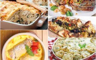 Блины с бужениной и сыром, запеченые в духовке – пошаговый рецепт с фото – для духовки