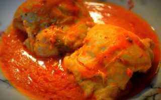 Жареная курица в остром соусе – пошаговый рецепт с фото. Как приготовить