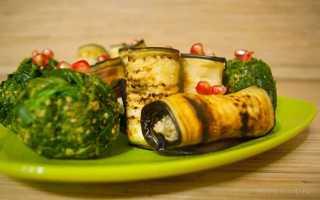 Баклажаны с курино-ореховой начинкой – пошаговый рецепт с фото. Как приготовить