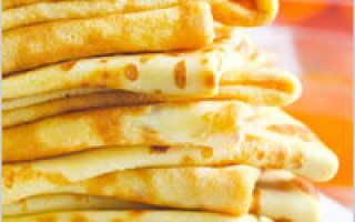 Постные блины с десертной начинкой – пошаговый рецепт с фото. Как приготовить