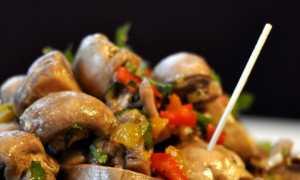 Шампиньоны по-корейски – пошаговый рецепт с фото. Как приготовить