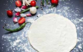 Тесто для пиццы на сметане – пошаговый рецепт с фото. Как приготовить