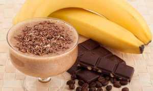 Горячий молочно-шоколадный коктель с бананом – пошаговый рецепт с фото. Как приготовить