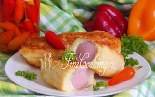 Сосиски в картофеле на палочках – пошаговый рецепт с фото. Как приготовить