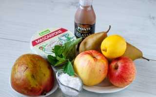 Слоеные корзинки с кремом из маскарпоне, манго и фруктами – пошаговый рецепт с фото. Как приготовить