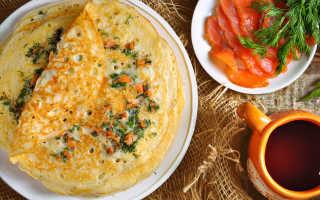 Блинчики с сырным припёком – пошаговый рецепт с фото. Как приготовить