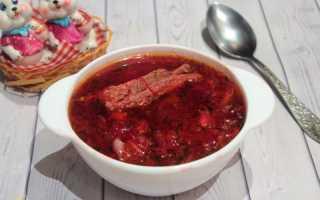Борщ со свинными ребрышками – пошаговый рецепт с фото. Как приготовить