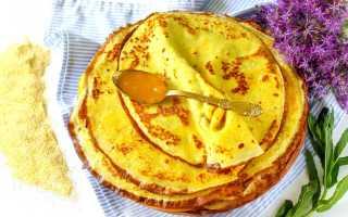 Кукурузные блины – пошаговый рецепт с фото. Как приготовить