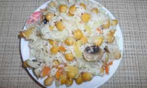 Плов вегетарианский – пошаговый рецепт с фото. Как приготовить