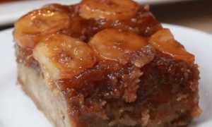 Пирог с банановым кремом – пошаговый рецепт с фото. Как приготовить