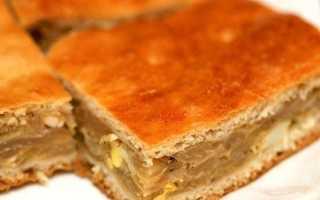 Быстрый капустный пирог – пошаговый рецепт с фото. Как приготовить