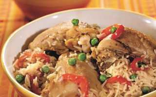 Курица с рисом по-испански – пошаговый рецепт с фото. Как приготовить