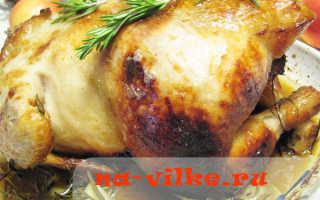 Курица, фаршированная фруктами – пошаговый рецепт с фото. Как приготовить