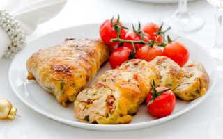 Фаршированные куриные голени с запеченным картофелем – пошаговый рецепт с фото – для духовки