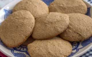 Гречневое печенье с грушевым пюре и ванилином – пошаговый рецепт с фото – для духовки