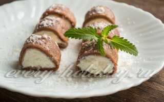 Кокосовые блины с шоколадом – пошаговый рецепт с фото. Как приготовить