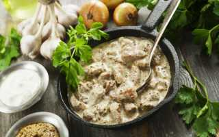 Курица с грибным соусом – пошаговый рецепт с фото. Как приготовить